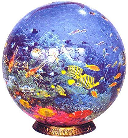 Amazon Com  Ocean World, 540 Piece 3d Jigsaw Puzzle Sphere Made By