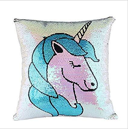 Amazon Com  Rosematerials Unicorn Pillow Case With Reversible