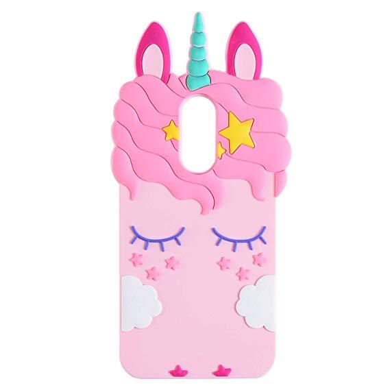 Amazon Com  Topsz Pink Unicorn Case For Samsung Galaxy J3 Achieve
