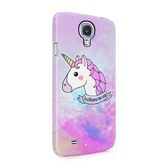 Amazon Com  Unicorn Head Believe In Us Hard Plastic Phone Case For