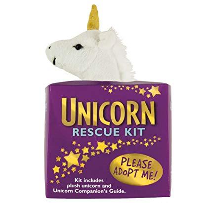 Amazon Com  Unicorn Rescue Adoption Kit Plush Stuffie Gift  Toys
