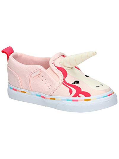 Amazon Com  Vans Toddler Girls Asher V Pink Unicorn With Horn
