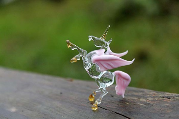 Amazon Com  Winged Unicorn Glass Figurine Alicorn Alicorn Glass