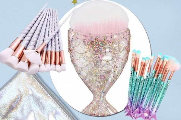Amazon Is Selling Unicorn Make Up Brushes For £3 To Rival