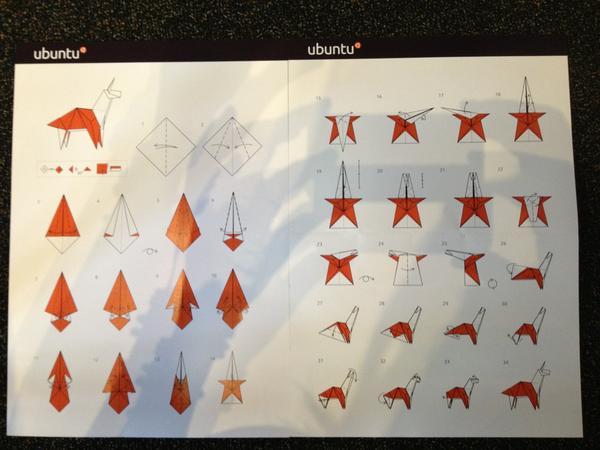 Aptivate On Twitter    Origami Unicorn Instructions  @dconstruct