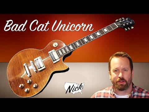 Bad Cat Intruments Unicorn Guitar
