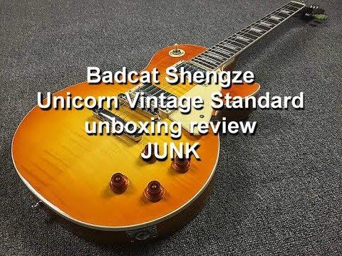 Bad Cat Shengze Unicorn Vintage Standard Unboxing Review Junk
