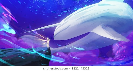 Blue Whale Game Images, Stock Photos & Vectors