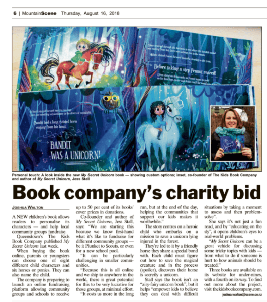 Book Company's Charity Bid