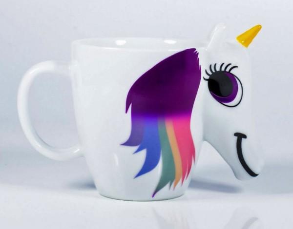 Color Changing Rainbow Unicorn Mug