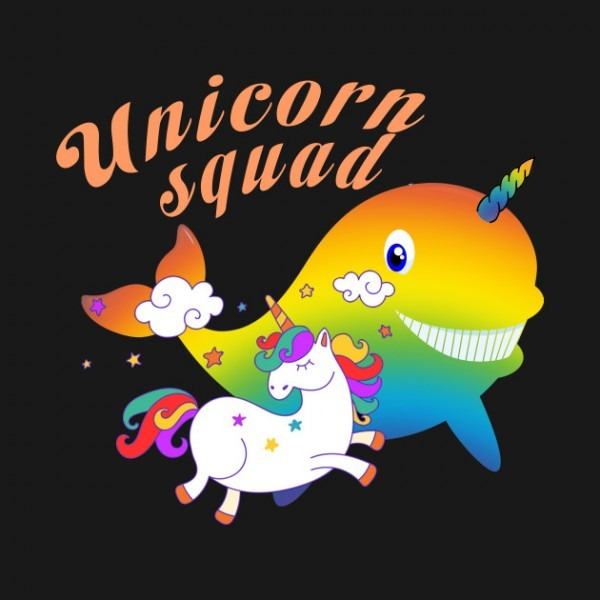Cute Unicorn Squad T