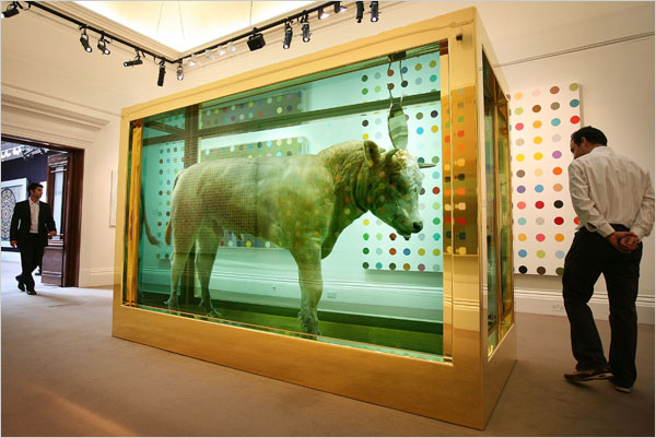 Damien Hirst's Two