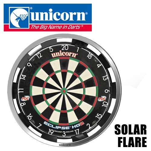 Darts Shop Tito  Unicorn Dart Board Surround Solor Flare