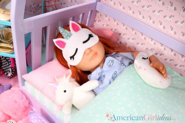Diy Doll Unicorn Sleep Mask • American Girl Ideas
