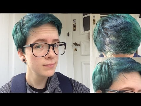 Dyeing My Hair Blue And Green