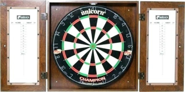 Electronic Dart Board Cabinet – Cherryhood Co