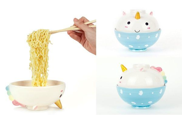 Elodie The Unicorn Is Two Magical Ramen Bowls In One