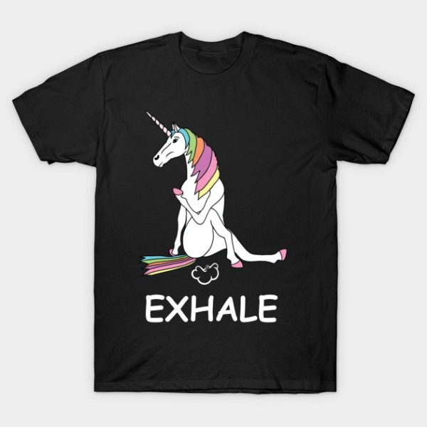 Exhale Unicorn T