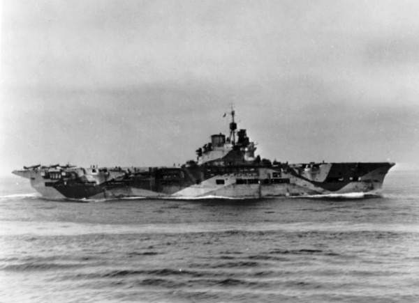 File Hms Unicorn (i72) Underway In The Atlantic 1943 Jpg