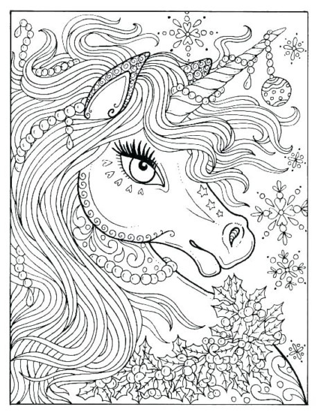 Free Unicorn Coloring Pages Colouring Pages Free Unicorn Free
