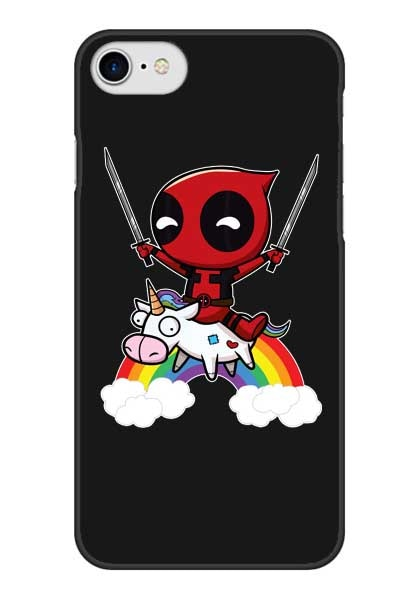 Funny Deadpool And Unicorn Phone Case For Iphone 5 5s Se 6 6s Plus