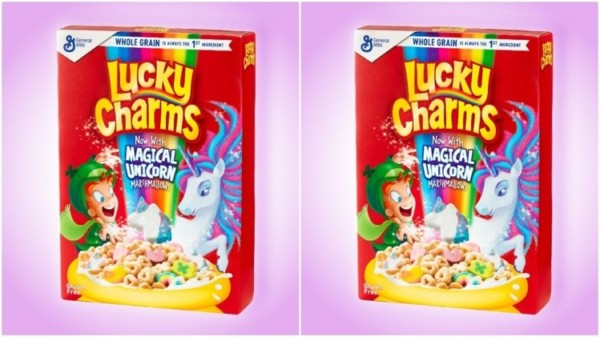 General Mills Launches Lucky Charms Unicorn Marshmallow Cereals