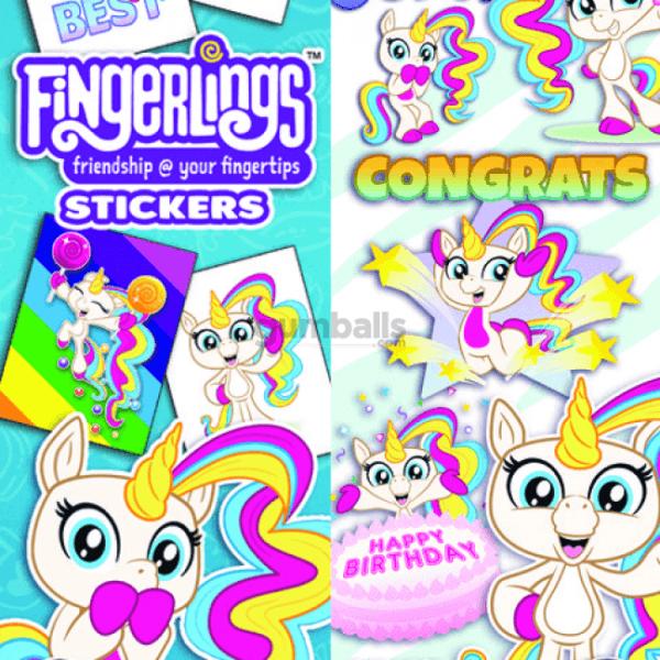 Gigi The Unicorn Stickers