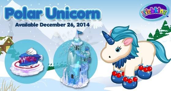 Gymbo's Webkinz Blog » Estore Points Sale & Polar Unicorn