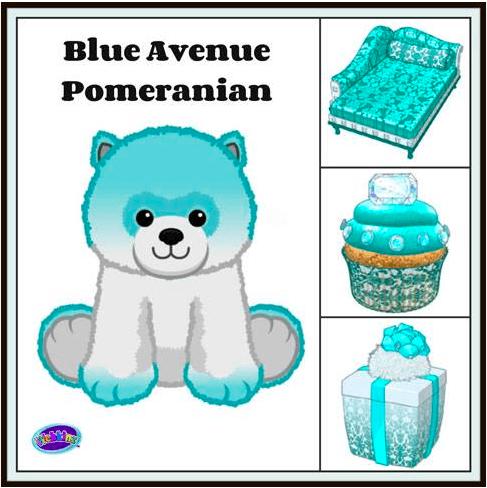 Gymbo's Webkinz Blog » Sneak Peeks  Blue Avenue Pomeranian & Polar