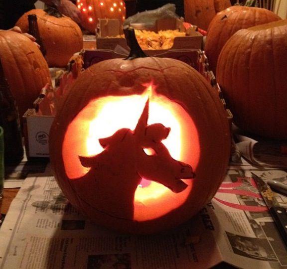 Halloween Unicorn Jack
