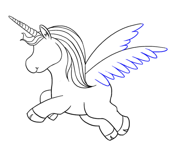 How To Draw A Cute Unicorn In A Few Easy Steps