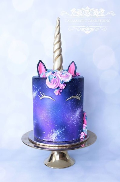 I Had A Cake Just Like This Except Without Galaxy Wish I Had It