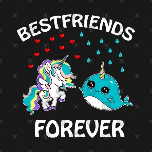 I Love Narwhals Kawaii Narwhal Unicorn Best Friends
