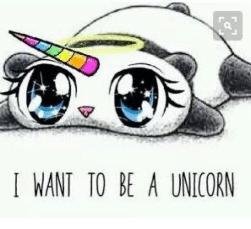 I Want To Be A Unicorn