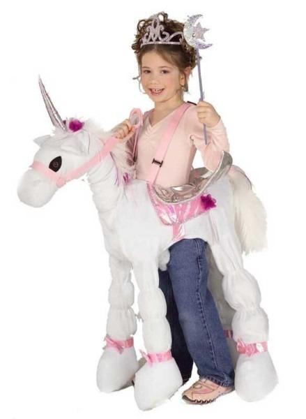 Kids Ride A Unicorn Costume