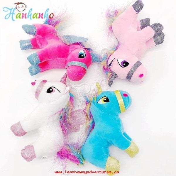 Kids Toys Cute Unicorn Plush Toy Small Pendant Soft Stuffed Animal