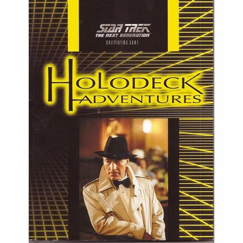 Last Unicorn Games Star Trek Holodeck Adventures Rpg Book