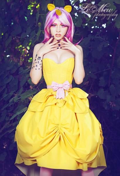 Le Mew Photography Lady Marlene Artifice Clothing Concrete