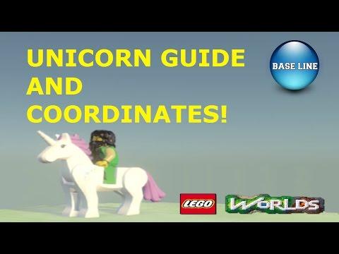 Lego Worlds  Unicorn Coordinates + Guide