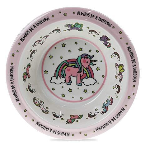 Lesser & Pavey Lp42493a Little Stars Unicorn Bowl  Amazon Co Uk