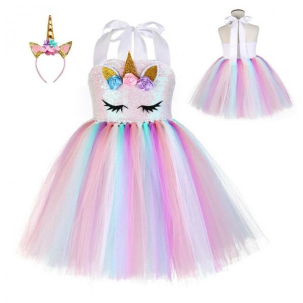 Lilt Toddler Girls Chevron Unicorn Dress 3t For Sale Online