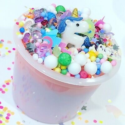 Loaded Unicorn Poop Fluffy Surprise Slime