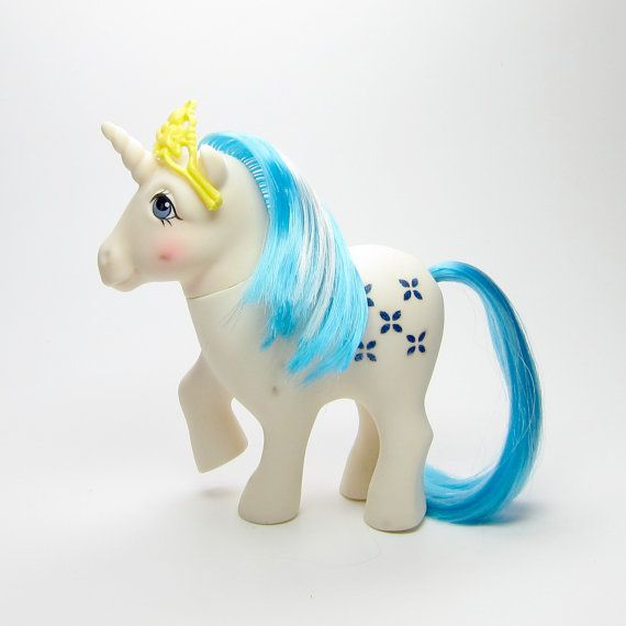 Majesty G1 My Little Pony From Dream Castle Vintage Year 2 White
