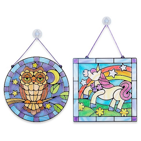 Melissa & Doug® Stained Glass Made Easy Activity Kits Set  Owl And