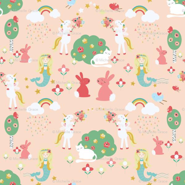 Mermaids And Unicorns Wallpaper