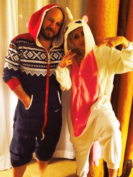 Miley Cyrus Has A Unicorn Onesie  Of Course She Does