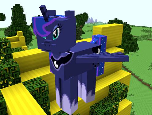 Mine Little Pony  Ponify Minecraft!
