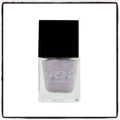 Nails Inc Nail Polish Unicorn Dot Com (purplely Pink) 5ml Unused