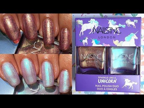 Nails Inc Sparkle Like A Unicorn Duo Set