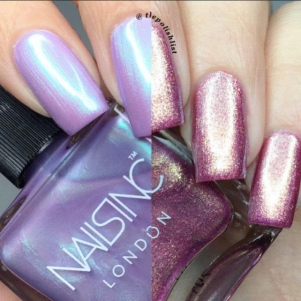 Nails Inc Sparkle Like A Unicorn Nail Polish Duo, Health & Beauty